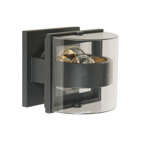 vonkajšie nástenné svietidlo GAMA 1xE27/60W šedá