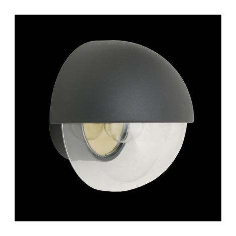 vonkajšie nástenné svietidlo ORIGO 1xE27/75W šedá