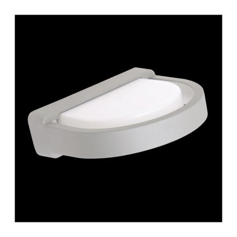 vonkajšie nástenné svietidlo ORIGO stříbrná