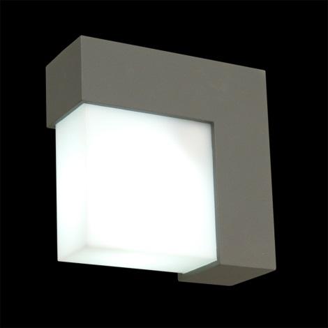 vonkajšie nástenné svietidlo OSLO 1xE27/14W