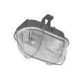 Vonkajšie stropné svietidlo OVAL 1xE27/60W/230V šedá IP44