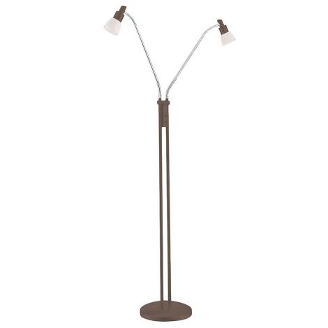 WOFI 3361.02.09.0000 - LED stojaca lampa EVE 2xLED/5W/230V