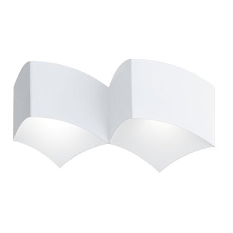 WOFI 4340.02.06.0000 - Nástenné svietidlo CARRE 2xG9/33W