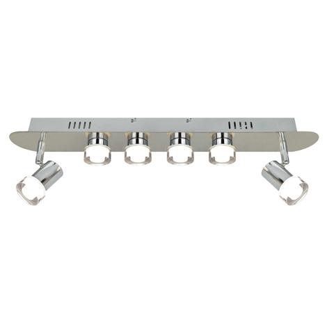 WOFI 7792.06.54.0500 - LED bodové svietidlo ANTIBES 6xLED/4W/230V