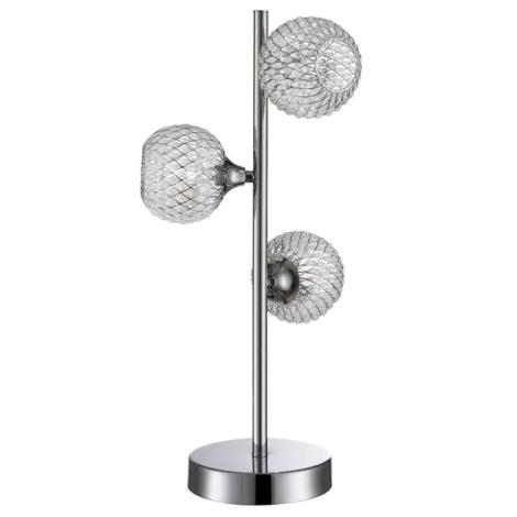 WOFI 8415.03.01.0000 - Stolná lampa PRESTO 3xG9/28W
