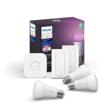 Základná sada Philips HUE WHITE AND COLOR AMBIANCE 3xE27/9W/230V