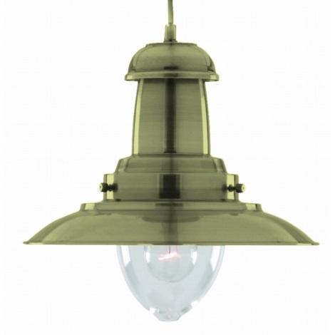 Závesné svietidlo FISHERMAN 1 XL AB 1xE27/60W