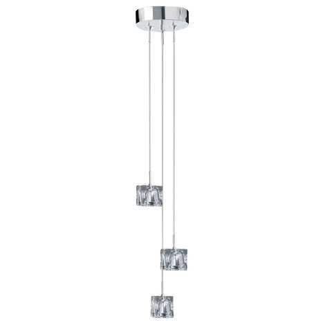Závesné svietidlo ICE CUBES 3 3xG4/20W