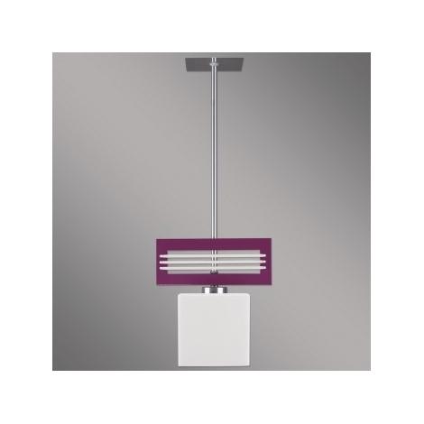 Závesné svietidlo SANGA 1xE14/60W fialová