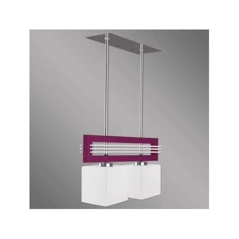 Závesné svietidlo SANGA 2xE14/60W fialová