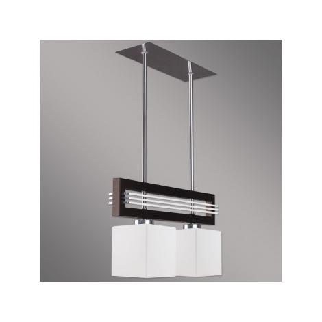 Závesné svietidlo SANGA 2xE14/60W hnedá