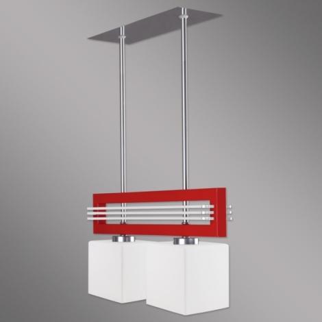 Závesné svietidlo SANGA SG/2/R/K 2xE14/60W