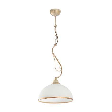 Závesné svietidlo XSARA 1xE27/60W patina - zlatá