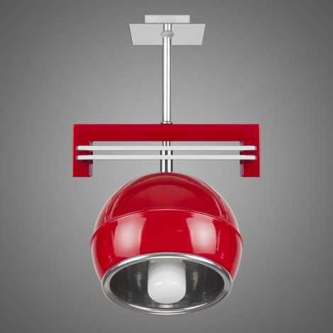 Závěsné svítidlo SANGA SG/KU/1/RD 1xE14/60W červená