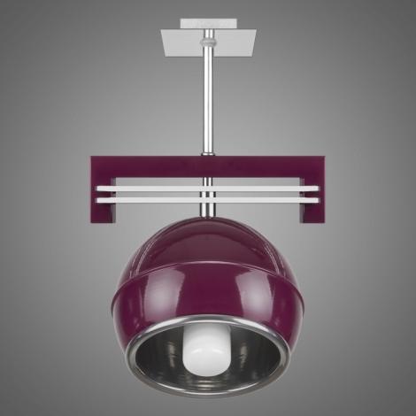 Závěsné svítidlo SANGA SG/KU/1/VL 1xE14/60W fialová
