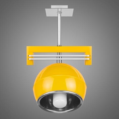 Závěsné svítidlo SANGA SG/KU/1/YL 1xE14/60W žlutá