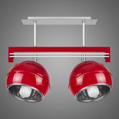 Závěsné svítidlo SANGA SG/KU/2/RD 2xE14/60W červená
