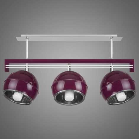 Závěsné svítidlo SANGA SG/KU/3/VL 3xE14/60W fialová