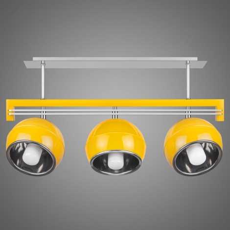 Závěsné svítidlo SANGA SG/KU/3/YL 3xE14/60W žlutá