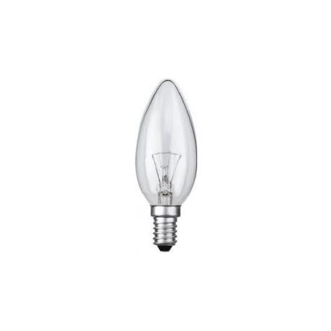 Žiarovka E14/40W sviečková číra
