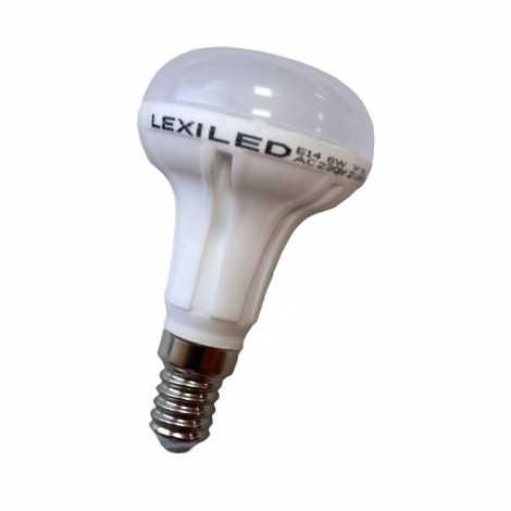 Žiarovka LED E14/6W 16x5630 SMD Epistar, teplá biela
